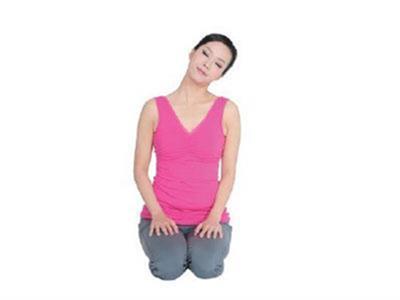 颈部瑜伽锻炼安排