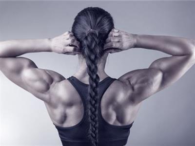 背部三角肌强化锻炼方法