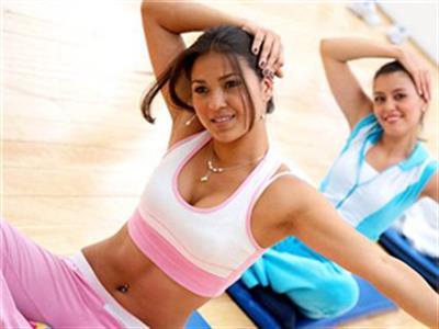 女性健身房减肥减脂健身计划