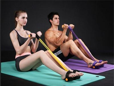 用拉力器锻炼全身肌肉的方法