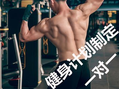 健身服务健身计划制定一对一私教服务的封面图