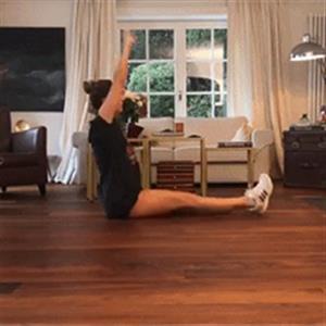 在家徒手练出马甲线的锻炼方法