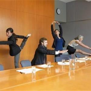 上班族利用碎片时间健身的方法