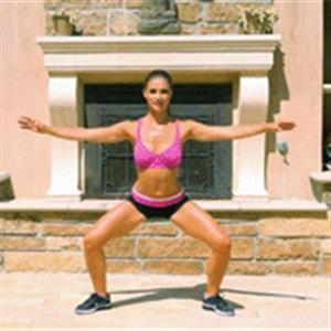 家庭减脂健身动作分享