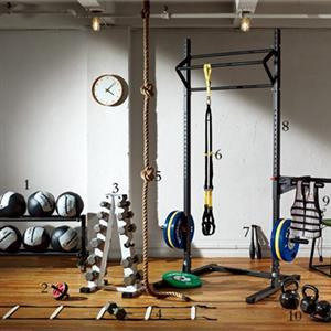 使用弹力带在家健身的动作方法